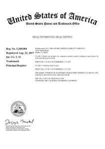 Registration Certificate 5,268,984_001