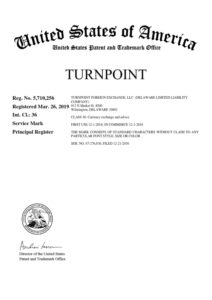 trademark registration for TURNPOINT